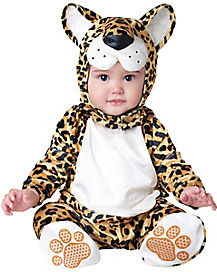 Baby Leapin Leopard One Piece Costume