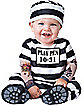 Baby Time Out Convict Costume