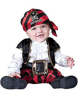 Baby Cap'n Stinker Pirate Costume