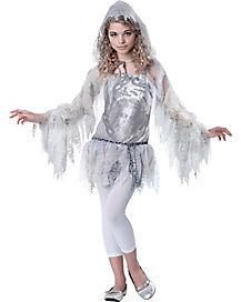 Tween Ghostly Spirit Costume