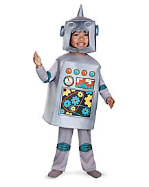 Retro Robot Toddler Costume
