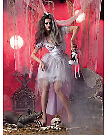 Adult Bride Zombie Costume