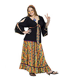 Adult Groovy Mama Plus Size Costume