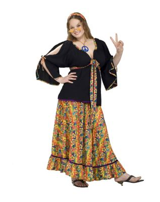 Groovy Mama Adult Womens Plus Size Costume