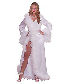 Hollywood Satin Robe Adult Womens Costume