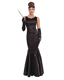 Adult Hollywood High Society Dress Costume