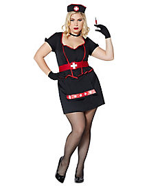 Cardiac Arrest Nurse Adult Womens Plus Costume