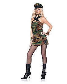 Adult Army Cadet Dress Costume