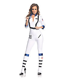 Blast Off Astronaut Adult Womens Costume