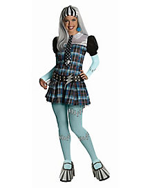 Adult Frankie Stein Costume Deluxe - Monster High