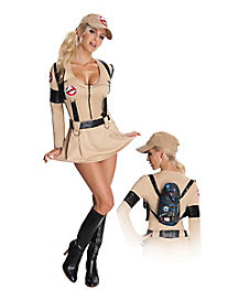 Ghostbusters Dress Adult Womens Costume