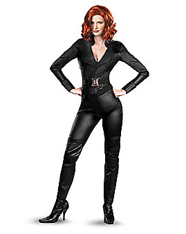 Adult Black Widow Deluxe Costume - Avengers