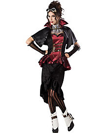 Steampunk Vampiress Adult Womens Costume