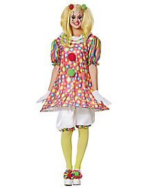 Tickles the Clown Adult Womens Costume