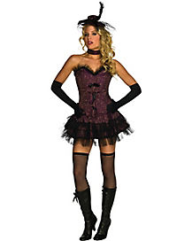 Ohh La La Saloon Girl Adult Womens Costume