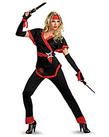 Adult Sexy Dragon Ninja Plus Size Costume