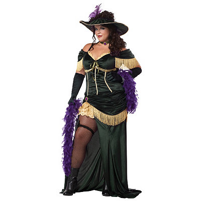 Saloon Madame Adult Womens Plus Size Costume
