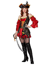 Adult Spanish Pirate Costume