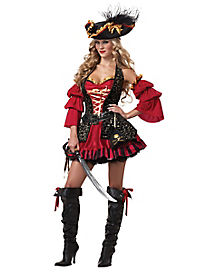Adult Spanish Pirate Plus Size Costume