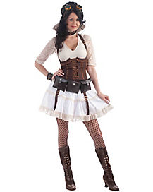 Steampunk Sally Adult Womens Costume