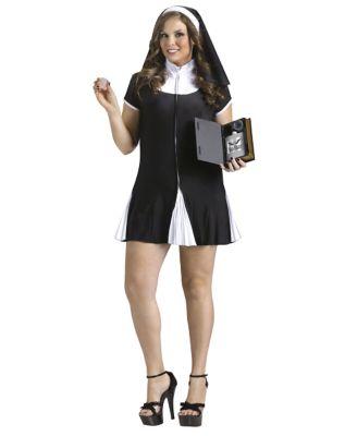 Bad Habit Adult Womens Plus Size Costume