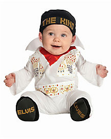 Baby One Piece Elvis Costume - Elvis