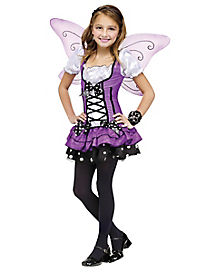 Lilac Fairy Girls Costume