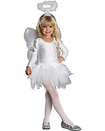 Kids Angel Tutu Costume