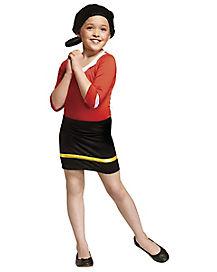 Kids Olive Oyl Costume - Popeye