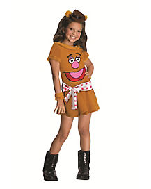 Muppets Fozzie Bear Girls Costume