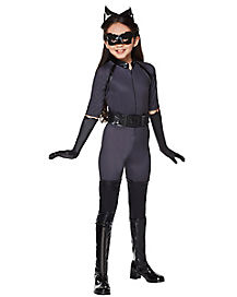 Kids Catwoman Costume Deluxe - Batman The Dark Kn8ight