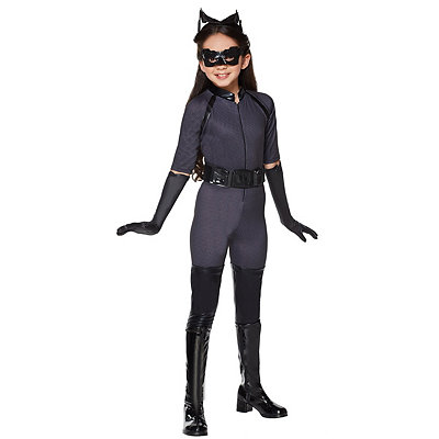 Batman Dark Knight Catwoman Deluxe Girls Costume