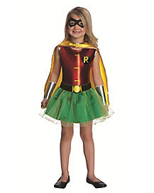 Batman Robin Tutu Girls Costume