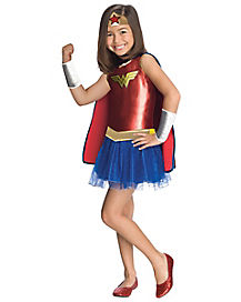 Wonder Woman Tutu Girl's Costume
