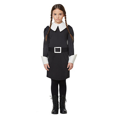 Addams Family Wednesday Addams Girls Costume