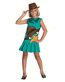 Phineas and Ferb Agent Perry Girls Costume