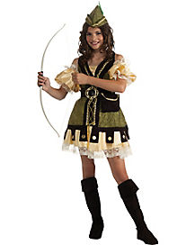 Robin Hood Girls Costume