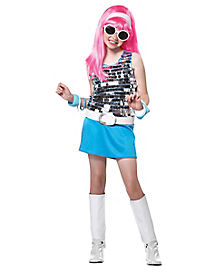 Kids Go Go Girl 60s Costume