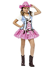 Kids Rodeo Gal Costume
