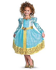 Kids Long Sleeve Merida Costume Deluxe - Brave