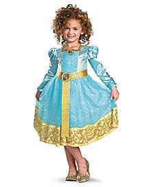 Kids Long Sleeve Merida Costume Deluxe - Brave