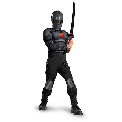 G.I. Joe Snake Eyes Light Up Muscle Child Costume