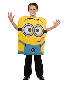 Kids Minion Dave Pullover Costume - Despicable ME