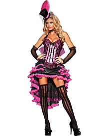 Burlesque Beauty Adult Womens Theatrical Costume