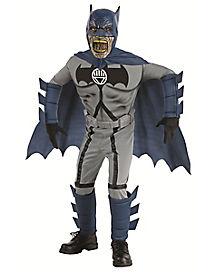 Kids Batman Zombie Costume Deluxe - Batman
