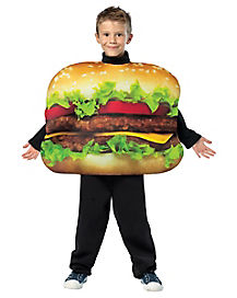 Kids Get Real Cheeseburger Costume