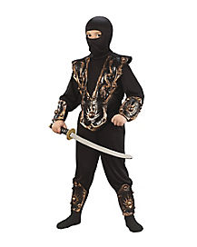 Warrior Ninja 3-D Child Costume