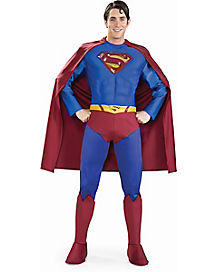 Adult Superman Costume Theatrical - Superman