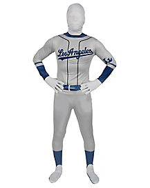 Adult Los Angeles Dodgers Costume Skin Suit - MLB