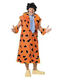 Adult Fred Flintstone Plus Size Costume - Flintstone's